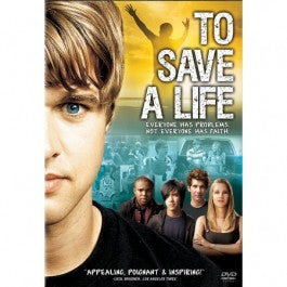 To Save A Life DVD