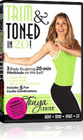 Trim and Toned in 20 with Tonya Larson DVD