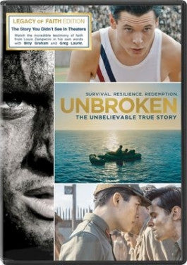 Unbroken 2-DVD Legacy of Faith Edition