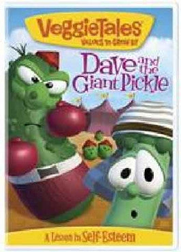 Veggie Tales Dave And The Giant Pickle Dvd Christian
