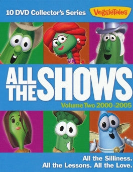 VeggieTales: All the Shows Vol 2 -  10 Show Collectors Set (2000 to 2005)