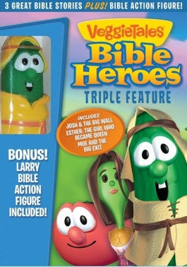 VeggieTales Bible Heroes Triple Feature DVD
