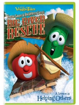 VeggieTales: Big River Rescue DVD