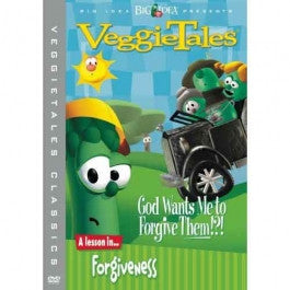 VeggieTales: God Wants Me to Forgive Them? DVD