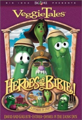 VeggieTales: Heroes of the Bible Vol. 1: Lions, Shepherds, and Queens, Oh My! DVD
