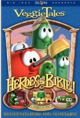 VeggieTales: Heroes Of The Bible Vol. 2: Stand Up, Stand Tall, Stand Strong DVD