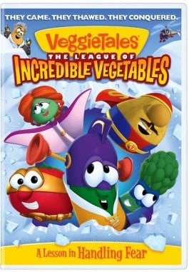 VeggieTales: The League of Incredible Vegetables DVD