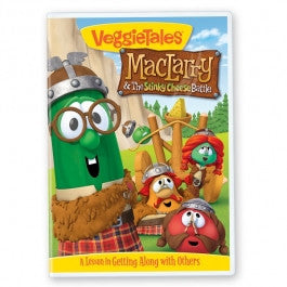 VeggieTales: MacLarry and the Stinky Cheese Battle DVD