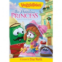 VeggieTales: The Penniless Princess DVD