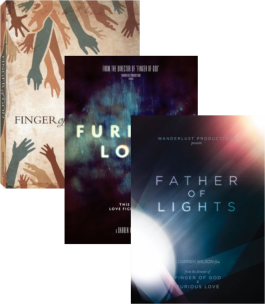 Wanderlust 3 DVD Set: Father of Lights, Furious Love, Finger of God