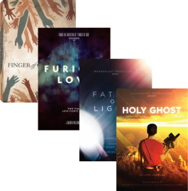 Wanderlust 4 DVD Set: Father Of Lights, Furious Love, Finger Of God, and Holy Ghost DVD