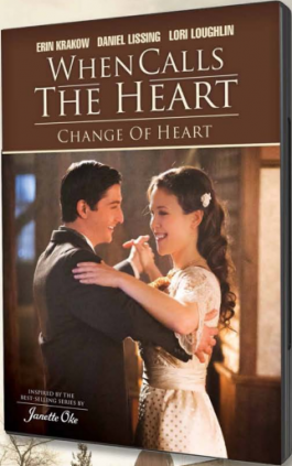 When Calls the Heart: Change of Heart DVD