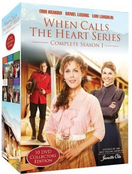 When Calls The Heart Complete Season 1 Boxed 10 DVD Set