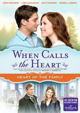 When Calls the Heart: Heart of the Family DVD