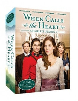 When Calls the Heart Season 2 Collectors Edition Hallmark Channel 10 DVD Set