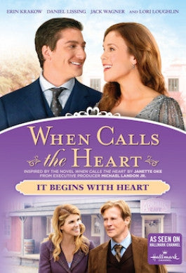 When Calls the Heart: It Begins with Heart Season 3 Vol 1 DVD