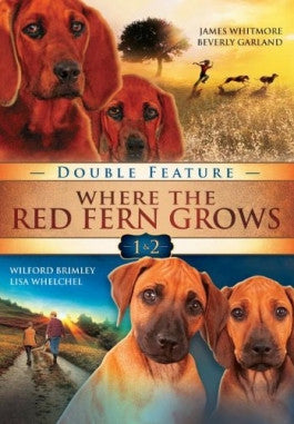 Where The Red Fern Grows 1 and 2 Double Feature DVD