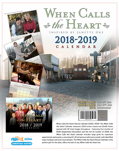 When Calls The Heart Christmas Special 2019.When Calls The Heart 2019 Full Size Hallmark Channel Calendar