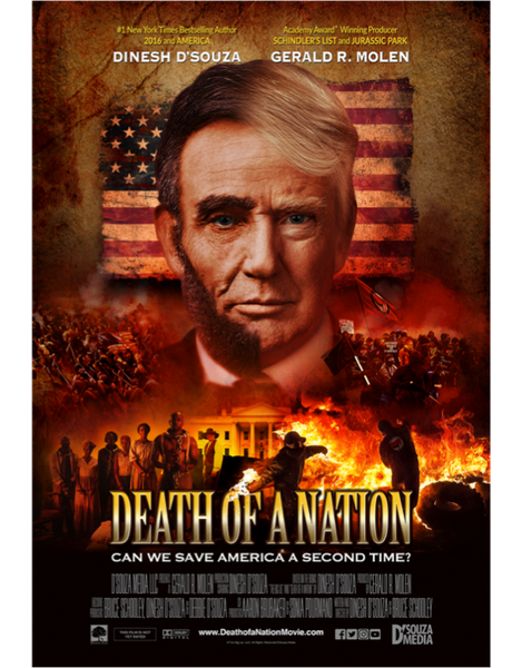 Copy of Death of a Nation with Dinesh D'Souza - Blu-Ray