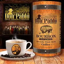 Don Pablo Bourbon Infused Whole Bean Coffee