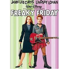 Freaky Friday Walt Disney DVD