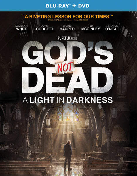 God's Not Dead 3: A Light in Darkness Blu-ray - DVD Combo