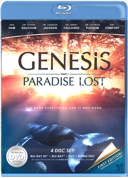Genesis Paradise Lost - blu-Ray & DVD 4-disc Set