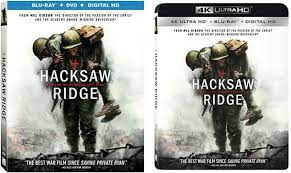 HACKSAW RIDGE Blu-Ray + DVD + DIGITAL HD