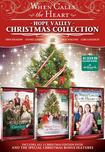 When Calls The Heart - Hope Valley Christmas Collection DVD