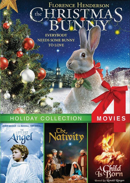 Holiday Four-Pack - Christmas Bunny, Littlest Angel, The Nativity & A Child is Born - DVD