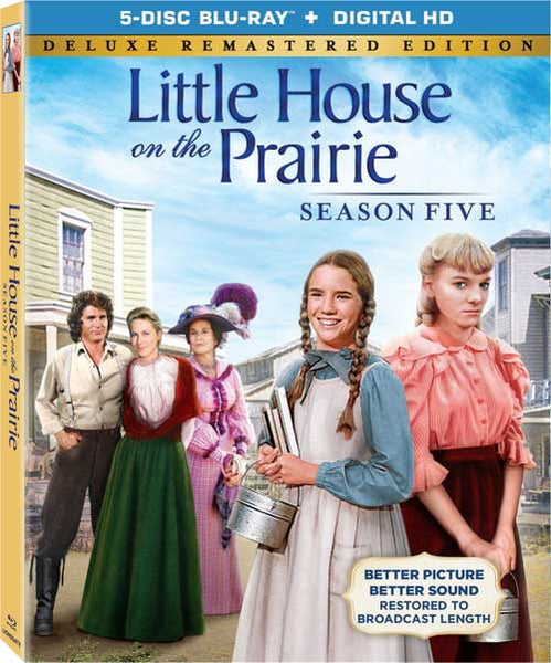 Little House on the Prairie Season 5 DVD Boxed Set