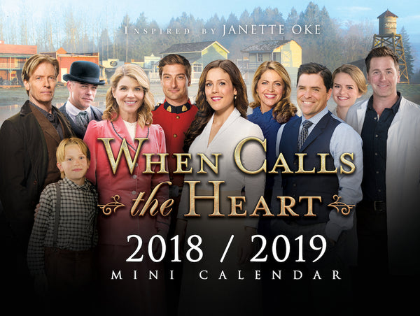 When Calls The Heart 2018/2019 Hallmark Channel Mini-Calendar
