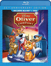 Oliver and Company (Disney) blu-ray and DVD