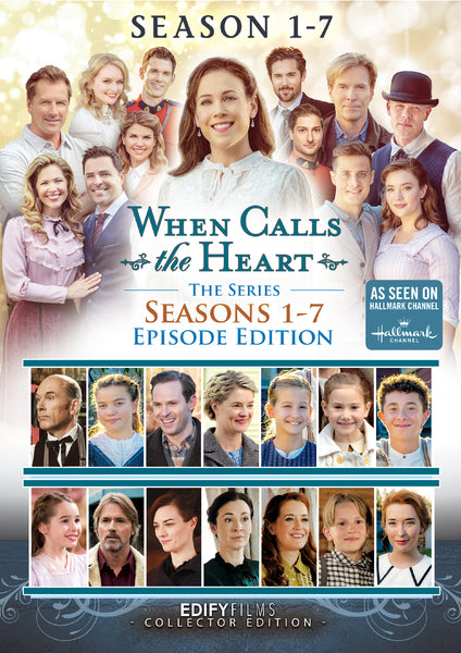 PREORDER When Calls The Heart Season 1-7 Collectors Edition all Episodes