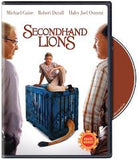 Secondhand Lions DVD - Michael Caine, RObert Duvall, Haley Joel Osment