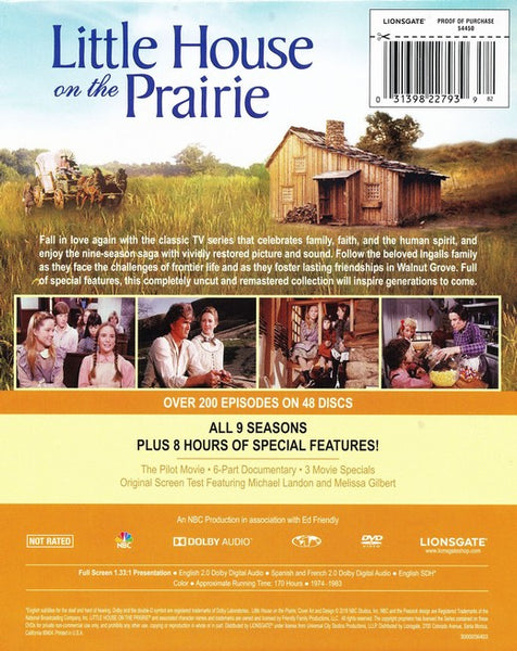 Little House On The Prairie Complete Collection Deluxe Remastered Fishflix Com Faith And Family Movies