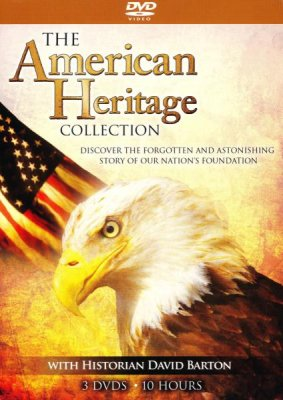 The American Heritage Collection 3 DVD Set 10 Hours
