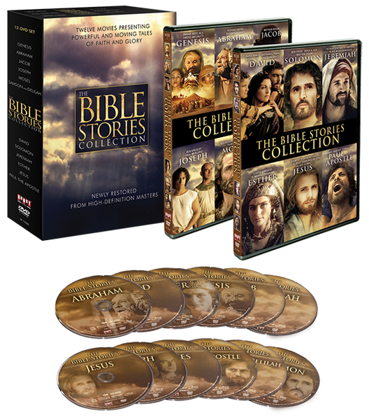 The Bible Stories Collection 12 Movies