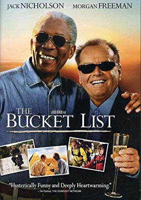 The Bucket List - Jack Nicholson and Morgan Freeman DVD
