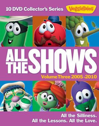 Veggie Tales All The Shows Vol 3 10 DVD Collector's Series