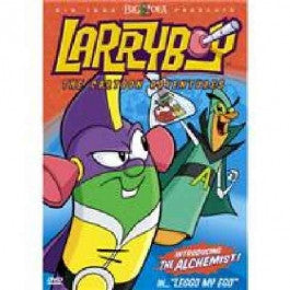 VeggieTales: Leggo My Ego Larryboy Cartoon DVD