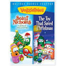 Veggietales Holiday Double Feature DVD St Nicholas & The Toy That Saved Christmas