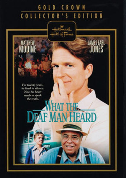 What the Deaf Man Heard - Hallmark DVD