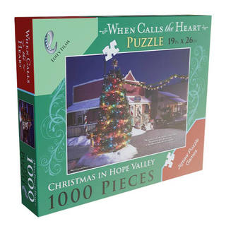 When Calls The Heart Christmas in Hope Valley Puzzle