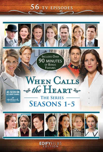 When Calls the Heart - Seasons 1-5 Episodes Set Hallmark Channel - 12-DVD Set
