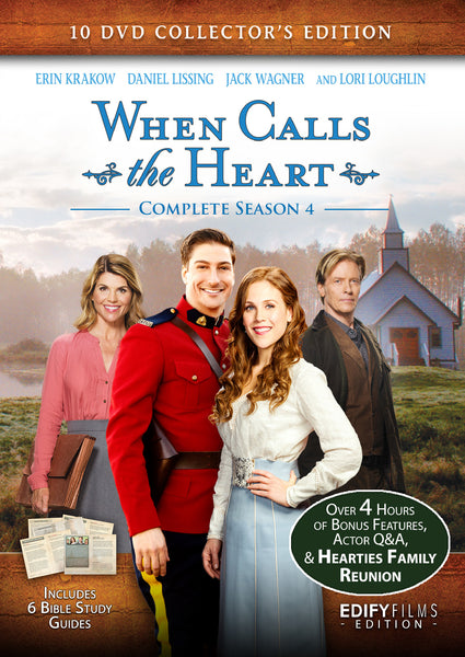When Calls the Heart Season 4 Collector's Edition - Hallmark Channel - 10 DVD set