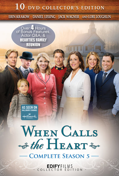 When Calls the Heart Season 5 Complete 10-DVD Set Collector's Edition - With Free Mini Calendar - (WCTH)