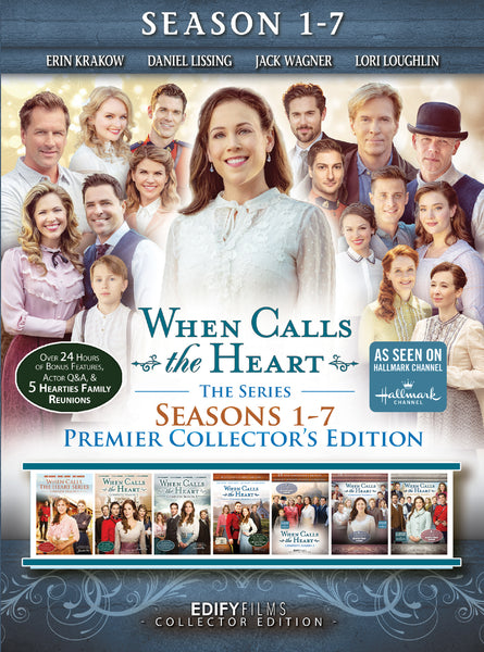 When Calls The Heart Season 1-7 Premier Collectors Edition DVD