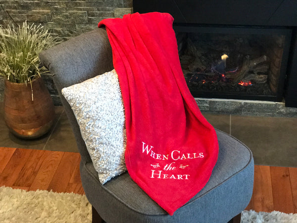 When Calls The Heart - Large 100% Polyester Fleece Throw Blanket