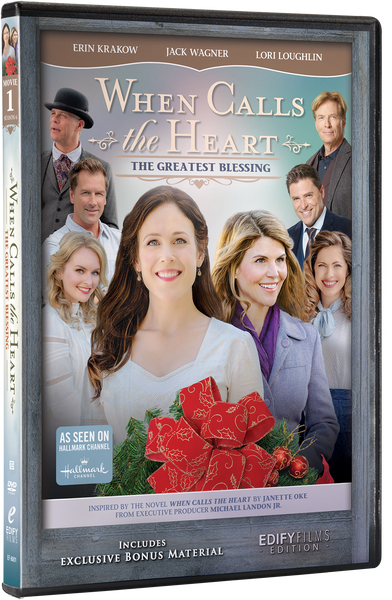 When Calls The Heart - The Greatest Blessing - with Free Mini When Calls The Heart Calendar